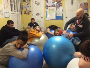 exercise ball class pregnancy birth